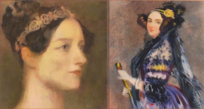 Ada Lovelace por baudet